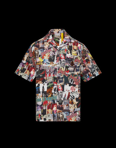 SHIRT Multicolor 8 Moncler Palm Angels