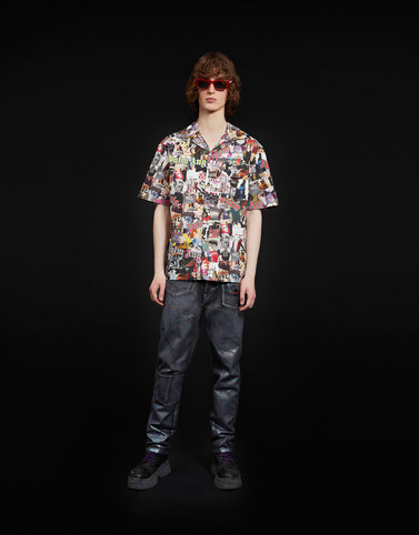 Moncler 8 Moncler Palm Angels Man: SHIRT