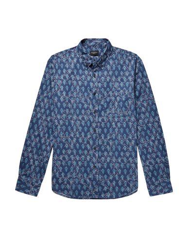 Фото - Pубашка от CLUB MONACO синего цвета