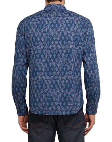Фото 2 - Pубашка от CLUB MONACO синего цвета
