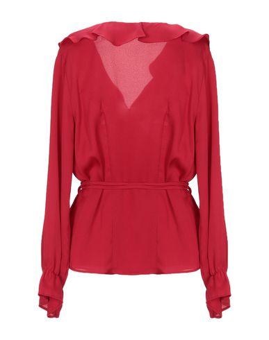 Фото 2 - Женскую блузку GRAFFIO красного цвета
