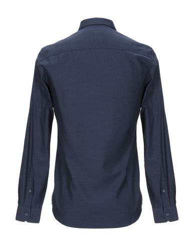 Фото 2 - Pубашка темно-синего цвета