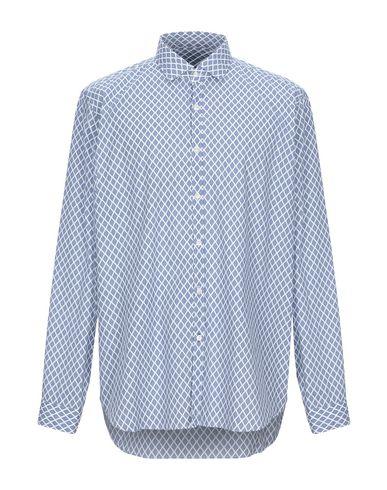Купить Pубашка от SIVIGLIA DENIM темно-синего цвета