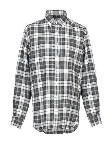 Фото - Pубашка от XACUS свинцово-серого цвета