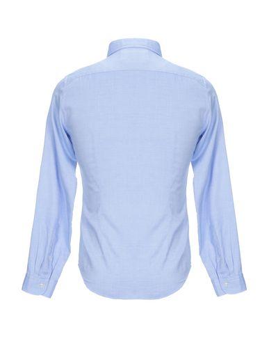 Фото 2 - Pубашка от SIVIGLIA DENIM небесно-голубого цвета