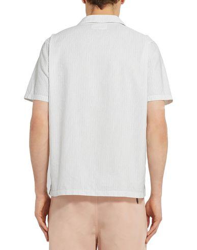 Фото 2 - Pубашка от FOLK белого цвета