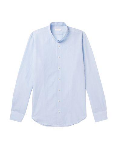 Фото - Pубашка от P.JOHNSON небесно-голубого цвета