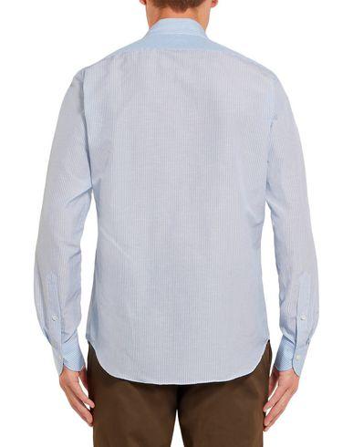Фото 2 - Pубашка от P.JOHNSON небесно-голубого цвета