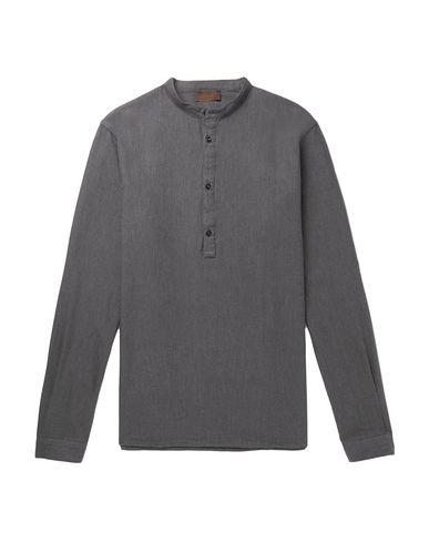 Фото - Pубашка цвет стальной серый