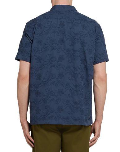 Фото 2 - Pубашка от PILGRIM SURF+SUPPLY темно-синего цвета
