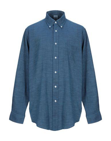 Фото - Pубашка от BROOKS BROTHERS синего цвета