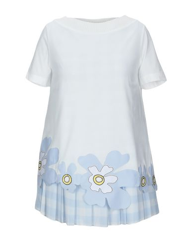 Фото - Женскую блузку ATINSIGHT by ANDREA TURCHI небесно-голубого цвета
