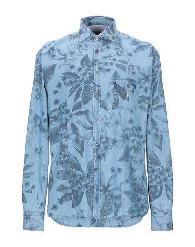 Купить Pубашка от CESARE PACIOTTI 4US небесно-голубого цвета