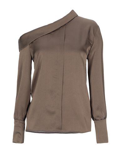 Фото - Женскую блузку DIANE KRÜGER цвет зеленый-милитари