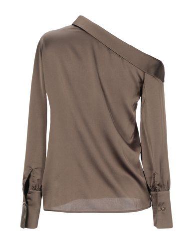 Фото 2 - Женскую блузку DIANE KRÜGER цвет зеленый-милитари