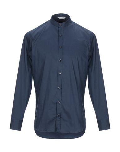 Фото - Pубашка от SSEINSE темно-синего цвета