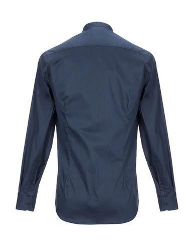 Фото 2 - Pубашка от SSEINSE темно-синего цвета