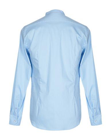 Фото 2 - Pубашка от SSEINSE небесно-голубого цвета