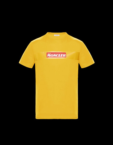 T-SHIRT Yellow Polos & T-Shirts Man