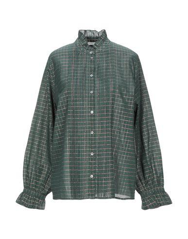 Фото - Pубашка от SOEUR зеленого цвета