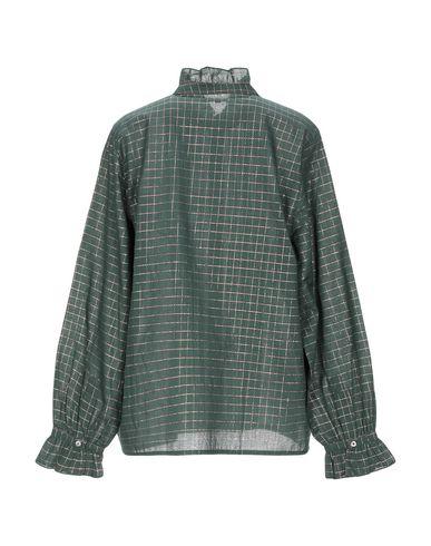 Фото 2 - Pубашка от SOEUR зеленого цвета