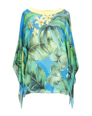Фото - Женскую блузку NUVOLA ярко-синего цвета