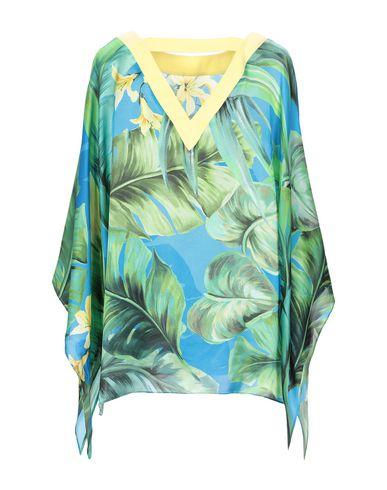 Фото 2 - Женскую блузку NUVOLA ярко-синего цвета