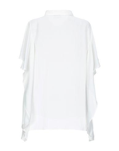 Фото 2 - Женскую блузку (A.S.A.P.) белого цвета