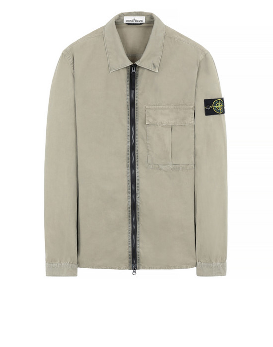 STONE ISLAND 115WN 'OLD' DYE TREATMENT  OVER SHIRT Man