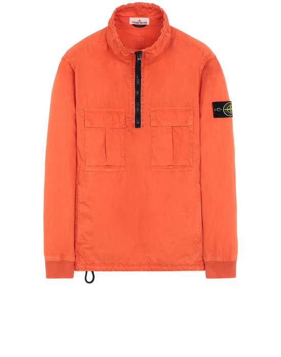 "КУРТКА-РУБАШКА 117WN ""OLD"" DYE TREATMENT  STONE ISLAND - 0"
