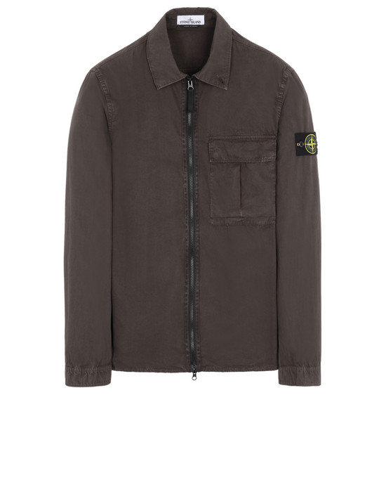 STONE ISLAND SOBRECAMISAS 115WN 'OLD' DYE TREATMENT