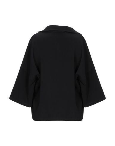 Фото 2 - Женскую блузку SIYU черного цвета