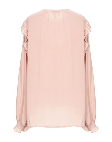 Фото 2 - Женскую блузку  цвет телесный