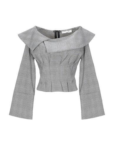 Фото - Женскую блузку JE SUIS LE FLEUR серого цвета