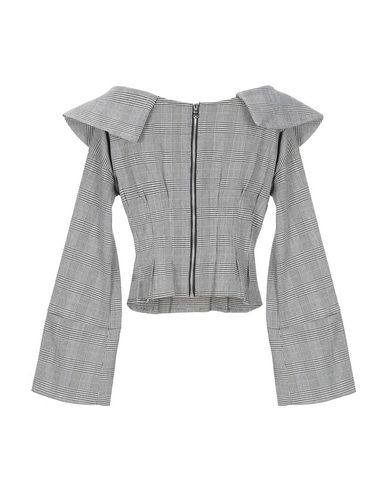 Фото 2 - Женскую блузку JE SUIS LE FLEUR серого цвета