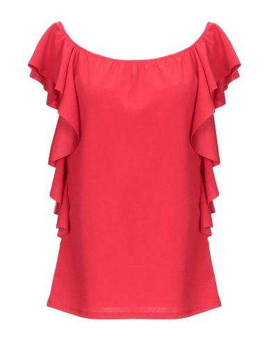 Фото - Женскую блузку DONNAMEDEA красного цвета