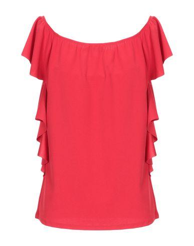 Фото 2 - Женскую блузку DONNAMEDEA красного цвета