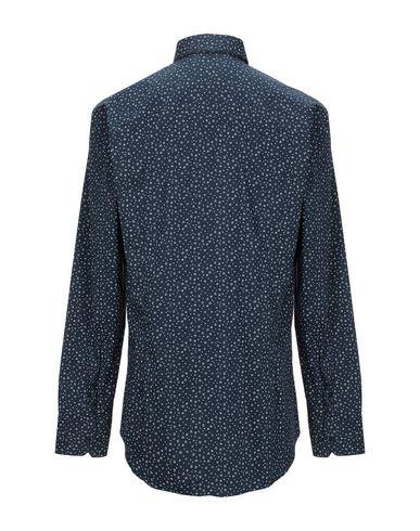 Фото 2 - Pубашка от EREDI DEL DUCA темно-синего цвета
