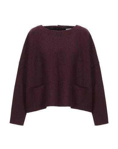 Фото - Женскую блузку HARRIS WHARF LONDON красно-коричневого цвета