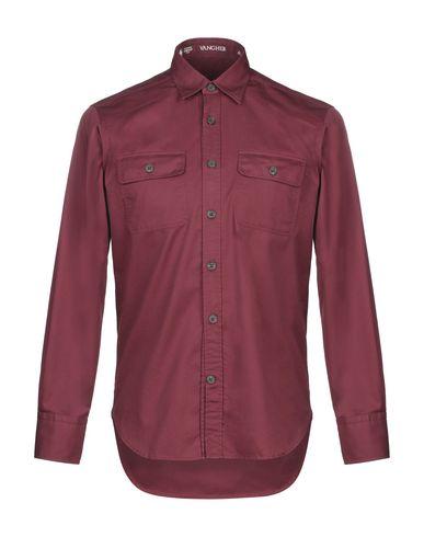 Фото - Pубашка от VANGHER N.7 кирпично-красного цвета