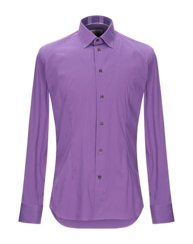 Фото - Pубашка от BRANCACCIO C. фиолетового цвета