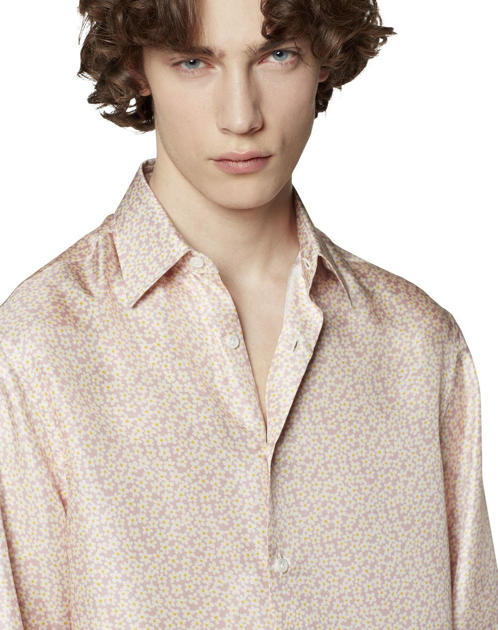 PRINTED SILK SHIRT - Lanvin