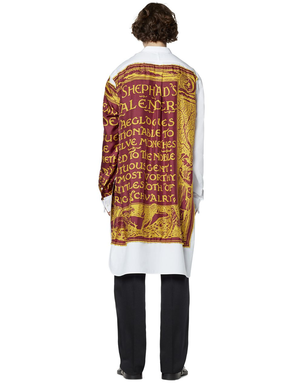 LONG PRINTED SILK SHIRT - Lanvin