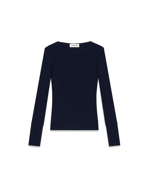 T-SHIRT IN JERSEY - Lanvin