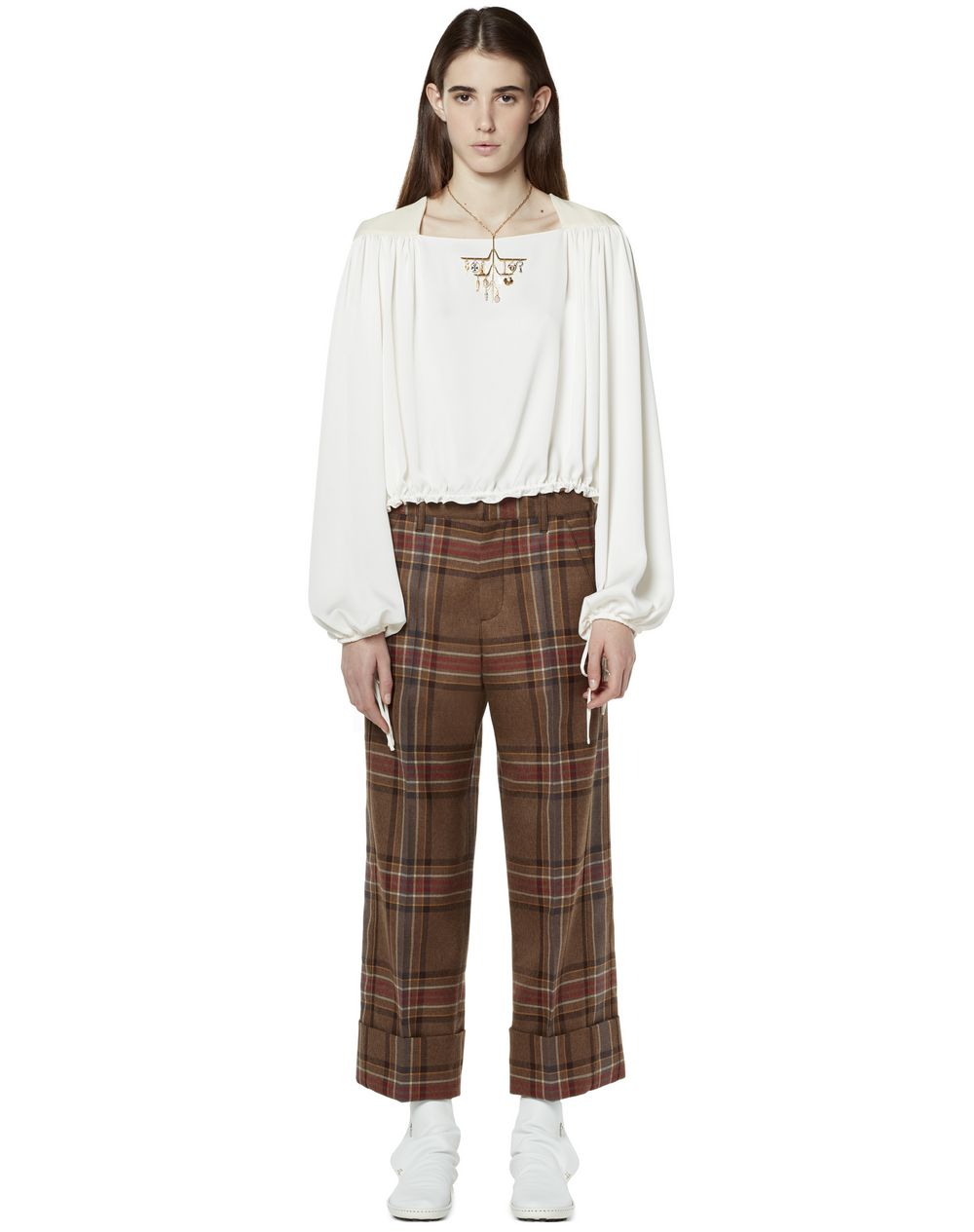 CROPPED GATHERED TOP - Lanvin