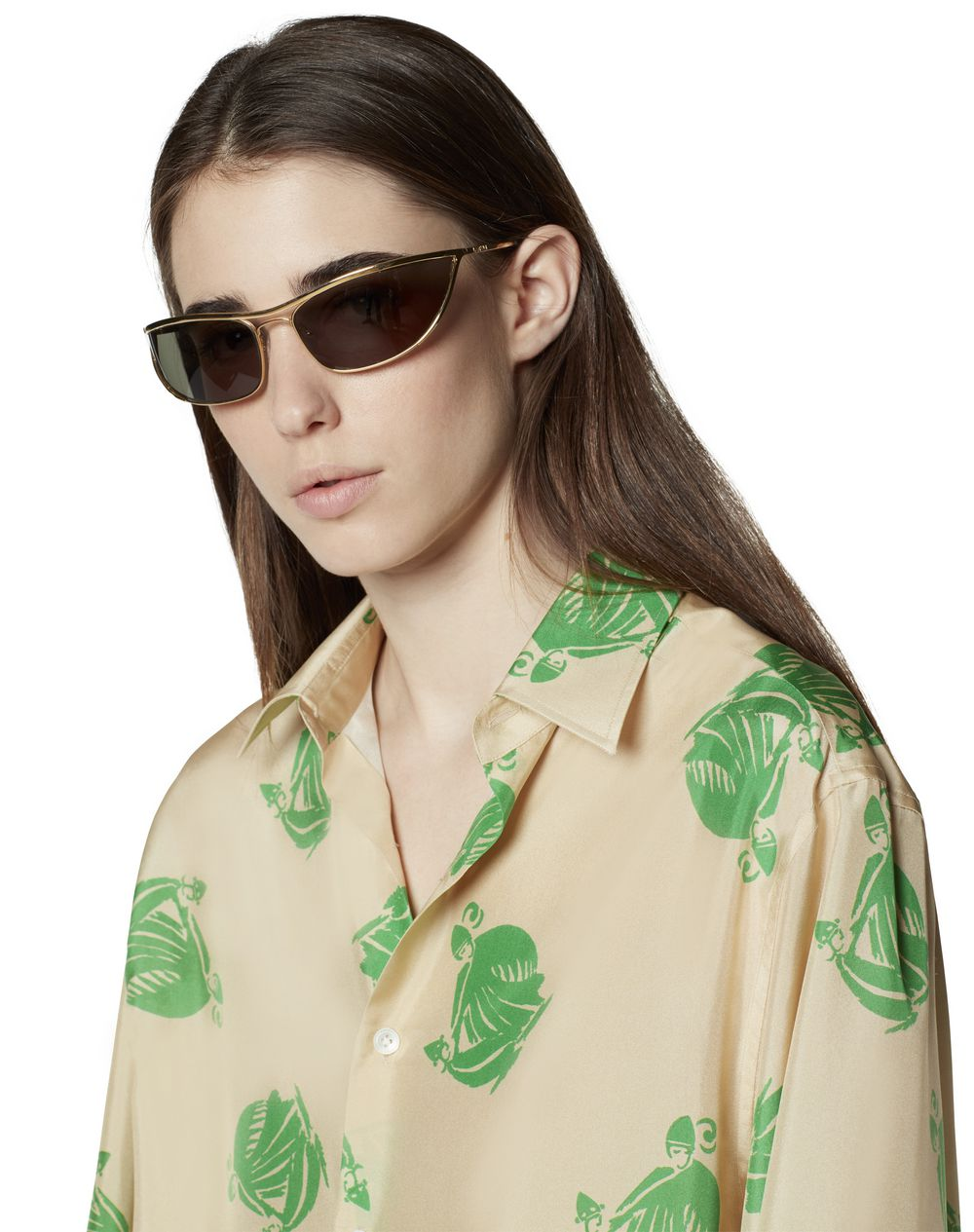 PRINTED SILK BLOUSE - Lanvin