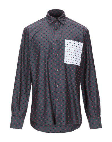 Фото - Pубашка от CORELATE цвет стальной серый