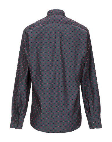 Фото 2 - Pубашка от CORELATE цвет стальной серый