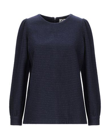 Фото - Женскую блузку DOUUOD темно-синего цвета
