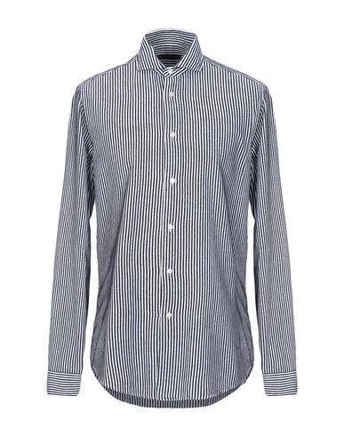 Фото - Pубашка от BRIAN DALES темно-синего цвета